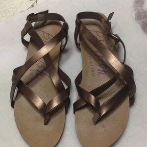 Blowfish brown /copper sandals